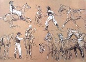 Argentine Petiseros (set of 4) POLO TEAM PRIZE OPTION