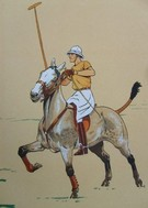 French Player 1 (Set of 4) POLO TEAM PRIZE OPTION - Image 1