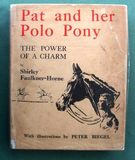 Pat And Her Polo Pony SOLD - Image 1