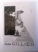 André Gillier 1930s Polo Advert SOLD