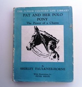 Pat And Her Polo Pony -SOLD