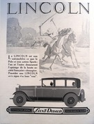 Lincoln Motorcar Polo Advert - Image 1