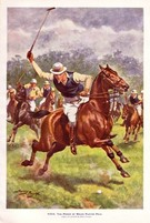 HRH The Prince of Wales Playing Polo 1922 - Image 1