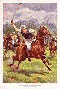 HRH The Prince of Wales Playing Polo 1922