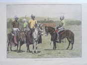 Manipuri Polo-players and Ponies