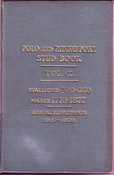 Polo and Riding Pony Stud Book Volume X. 1907 - 1908 -SOLD