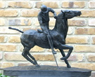 The Polo Player Sculpture - Image 1