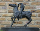 The Polo Player Sculpture - Image 2