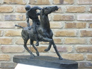 The Polo Player Sculpture - Image 3