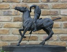 The Polo Player Sculpture - Bronze - Image 2