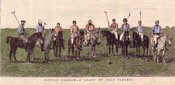 British Burmah - A Group of Polo Players