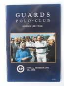 Guards Polo Club Official Yearbook 1992