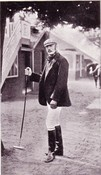 Edwardian Irish Polo Player