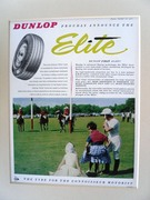 Dunlop Elite Tyre Advert - Image 1