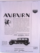 Auburn Automobile Company - Polo Advert - Image 1