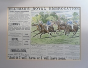 Elliman's Royal Embrocation Polo Advert