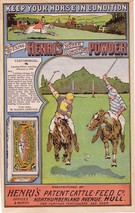 Henri's Horse Powder Advert - Image 1