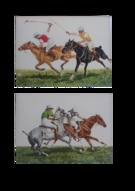 Rough Riding & At Close Quarters: A Pair of Prints - Image 1