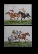 Rough Riding & At Close Quarters: A Pair of Prints