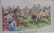 Punch Cartoon - Our Local Polo Match
